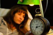 Нарушение сна вызывает мимические морщины лица