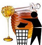 Мёд вызывает гликирование - старение человека