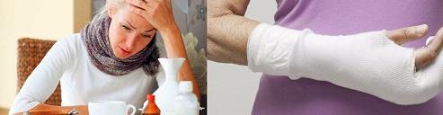 Слишком худые люди намного чаще получают переломы костей, а также чаще страдают простудными и аутоиммунными заболеваниями. Также имеют меньшую фертильность - способность иметь детей
