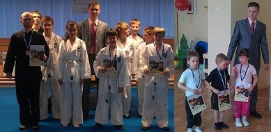 Мои младшие и средние ученики после награждения