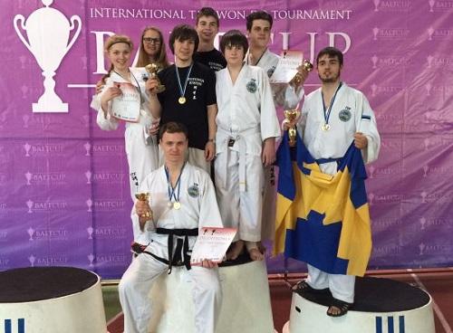 Я и мои ученики - чемпионы и призёры Кубка Балтии 2015